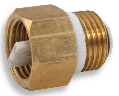 """Novaservis Zpětná klapka k odvzdušňovacímu ventilu 1/2"""" RA604/15"""