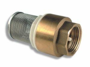 """Novaservis Zpětná klapka s nerezovým filtrem 6/4"""" JY502/40"""