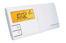 Termostat SALUS 091FL bílý s podsvětlením