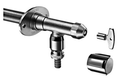 """SCHELL - POLAR nezámrzný ventil pro instalaci přes zeď 1/2"""" (antivandal)"""