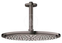 Grohe Rainshower Cosmopolitan Hlavová sprcha 310, sprchové rameno 142 mm, 1 proud, tmavý grafit 26067A00