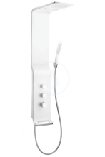 Hansgrohe Raindance New Sprchový panel Lift 180 2jet, matný chrom 27008000