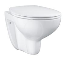 Grohe Bau Ceramic Závěsné WC se sedátkem SoftClose, rimless, alpská bílá 39351000
