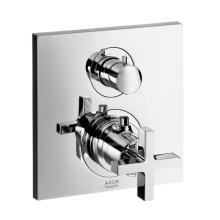 Axor Citterio Vanová termostatická podomítková baterie, chrom 39725000