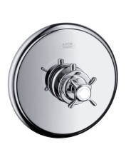 Axor Montreux Highflow termostatická baterie pod omítku, kartáčovaný nikl 16815820