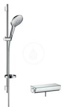 Hansgrohe Ecostat Select Combi 0,90 m s ruční sprchou Raindance Select S 150 3jet, chrom 27037000