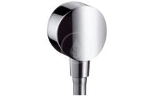 Hansgrohe Kolínka Připojení hadice Fixfit S se zpětným ventilem, chrom 27456000