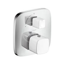 Hansgrohe PuraVida Termostat pod omítku a s uzavíracím ventilem, bílá/chrom 15775400