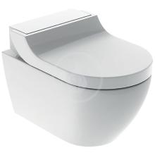 Geberit AquaClean Elektronický bidet Tuma Comfort s keramikou, bílá/bílé sklo 146.292.SI.1