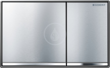 Geberit Omega60 Ovládací tlačítko OMEGA60, kartáčovaný chrom 115.081.GH.1