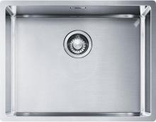 Franke Box Nerezový dřez BXX 210/110-54, 580 x 450 mm, sifon 127.0395.015