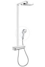 Hansgrohe Raindance Select E Showerpipe 300 2jet EcoSmart, termostatická sprchová baterie, sprchové rameno 380 mm, chrom 27282000