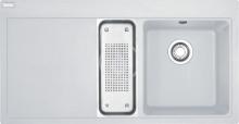 Franke Mythos Fragranitový dřez MTG 651-100/7, 1000x515 mm, bílá-led 114.0150.025