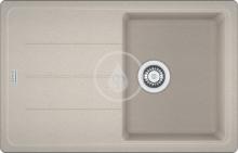 Franke Basis Fragranitový dřez BFG 611-78, 780x500 mm, sahara 114.0285.184
