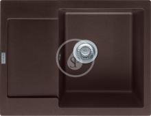 Franke Maris Fragranitový dřez MRG 611-62, 620x500 mm, tmavě hnědá 114.0284.765