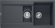 Franke Maris Fragranitový dřez MRG 651, 970x500 mm, grafit 114.0120.247