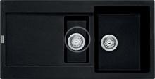 Franke Maris Fragranitový dřez MRG 651, 970x500 mm, onyx 114.0250.550