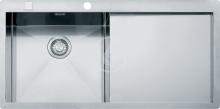 Franke Planar Nerezový dřez PPX 211/611 /2 TL, 1000x512 mm, levý 127.0203.464