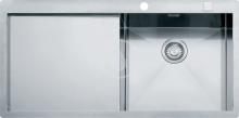 Franke Planar Nerezový dřez PPX 211/611 /7 TL, 1000x512 mm, pravý 127.0203.465