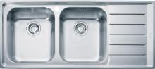 Franke Neptun Nerezový dřez NEX 621/2, 1160x510 mm, levý 101.0199.895