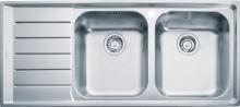 Franke Neptun Nerezový dřez NEX 621/7, 1160x510 mm, pravý + sifon 101.0120.274