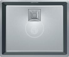 Franke Centinox Nerezový dřez CMX 110-50, 530x440 mm, sifon 122.0286.535