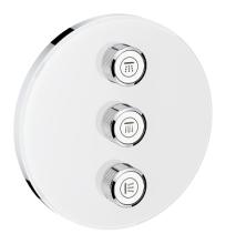 Grohe Grohtherm SmartControl Třícestný ovladač pod omítku, měsíční bílá 29152LS0