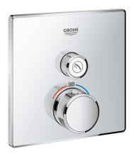 Grohe Grohtherm SmartControl Termostatická sprchová baterie pod omítku s jedním ventilem, chrom 29123000