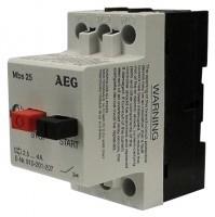 AEG  spouštěč MBS25  4,0 -  6,3 A